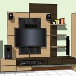 Desain Gambar Rak TV Minimalis