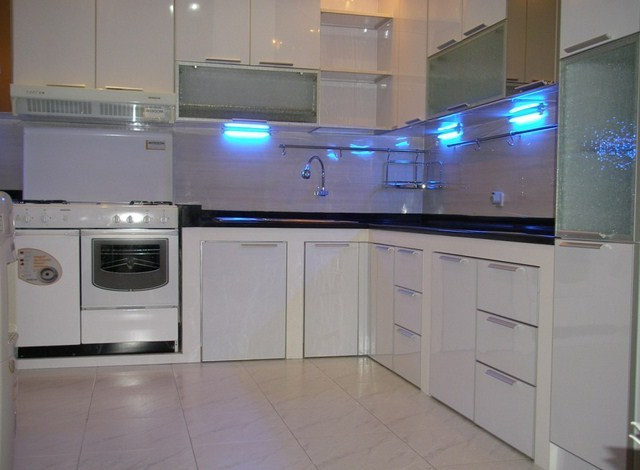 Kitchen Set Aluminium Composite Panel Dapur