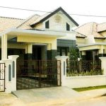 Model Atap Carport Berbahan Beton